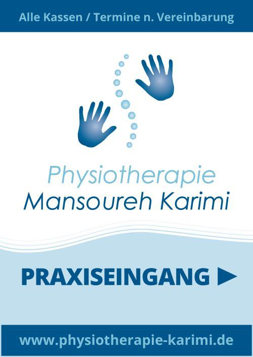 Roll-Ups / Displays Physiotherapie Mansoureh Karimi